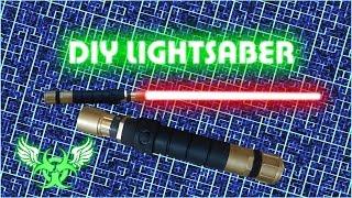 getlinkyoutube.com-DIY LIGHTSABER WITH BLADE E 15
