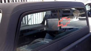 getlinkyoutube.com-(step1)1973-87 Chevy C-10 Truck  Flush fit back glass
