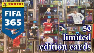 getlinkyoutube.com-50 LIMITED EDITION CARDS ☆ FIFA 365 ADRENALYN XL ☆ PANINI