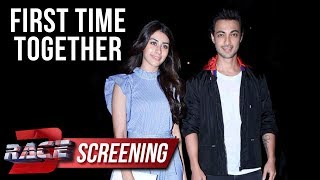 Aayush Sharma And Warina Hussain FIRST APPEARANCE After Loveratri Teaser Launch