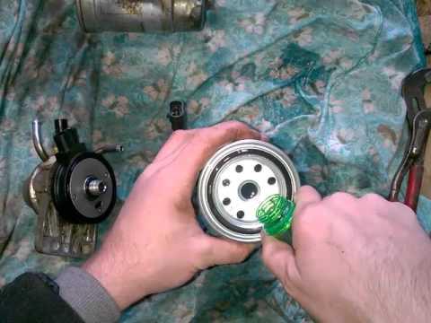 Замена топливного фильтра Porter 2. Hyundai Porter 2 топливный фильтр замена своими руками.