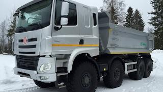 getlinkyoutube.com-Новый грузовик ТАТРА. Скании и Вольво такое только снится. Truck Trial Compilation Tatra 815 8x8-DAF
