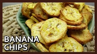 getlinkyoutube.com-Banana Chips | Kele ke Chips Recipe | Philips Airfryer recipes by Healthy Kadai
