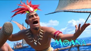 🌊 Moana - We Know the Way [Audio Version with Movie Scene + Lyrics on subtitles] HD