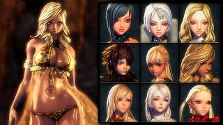 getlinkyoutube.com-Blade & Soul Female (Jin, Gon & Kun) Profile Pack #1 by Rendermax (Korea/China/Japan)