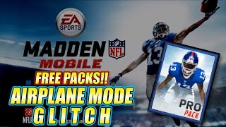 getlinkyoutube.com-Madden Mobile - Airplane Mode Free Packs