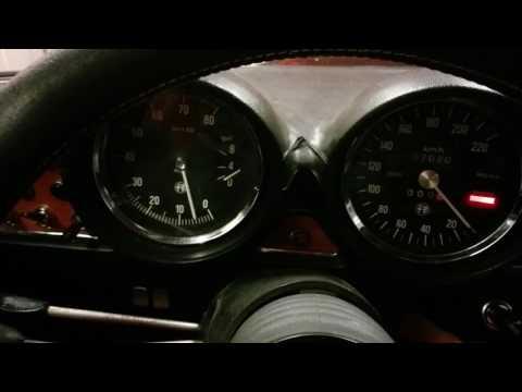 Alfa Giulia GT Oil Pressure test