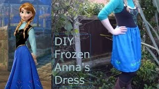 getlinkyoutube.com-'Frozen' Anna: Easy (No Sew) DIY Outfit