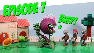 getlinkyoutube.com-Plants vs. Zombies Toy Play Episode 7 Chomper Plants Appetite