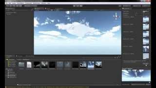 Como usar unity 5.2.2: Terrain y Skybox