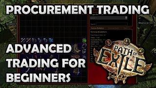 getlinkyoutube.com-Path of Exile: Advanced Procurement Trading for Beginners! - b/o Tabs, Auto Bump & Auto Updates!