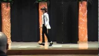 getlinkyoutube.com-11 year old Girl Dancing to Michael Jackson at School Talent Show (Olivia Bennett)