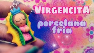 getlinkyoutube.com-Virgencita Plis PORCELANA FRIA💟 facil principiantes/Remake/Distroller