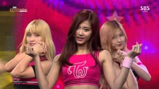 getlinkyoutube.com-Twice   Like Ooh Ahh 151208 SBS KBO Golden Glove Awards