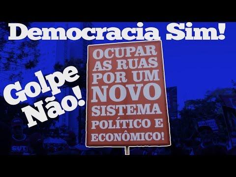 18/03: Em defesa da democracia