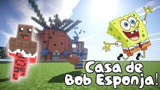 getlinkyoutube.com-Tutorial Como hacer la casa de Bob esponja en Minecraft