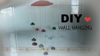 getlinkyoutube.com-How To Make Wall Hanging(wall art) Out Off Newspaper-newspaper recycle DIY Tutorial
