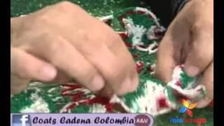 getlinkyoutube.com-Teleamiga Aprenda y venda Carpeta navideña