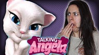 getlinkyoutube.com-Talking Angela | Mystery Gaming with Gabriella