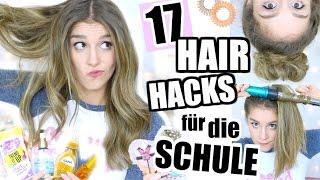 getlinkyoutube.com-17 HAAR & FRISUREN TIPPS für SCHÜLER und ANFÄNGER ♡ BarbieLovesLipsticks
