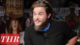 getlinkyoutube.com-Travis Fimmel on the Success of 'Vikings' | THR Cover Lounge