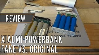 getlinkyoutube.com-Xiaomi Powerbank 10400mAh vs. Fake - Review