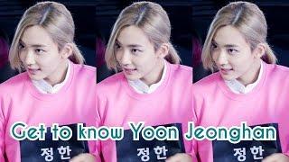 getlinkyoutube.com-SEVENTEEN - JEONGHAN FACTS    GET TO KNOW YOON JEONGHAN