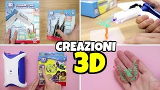getlinkyoutube.com-NUOVE CREAZIONI 3D con PISTOLA Freestyle e LABORATORIO 3D
