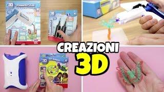 NUOVE CREAZIONI 3D con PISTOLA Freestyle e LABORATORIO 3D