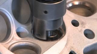 getlinkyoutube.com-Cylinder Head 201 - Radius Cut Valve Job