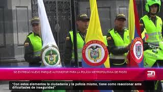 Se entregó nuevo parque automotor para la Policía Metropolitana
