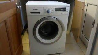 getlinkyoutube.com-Four methods to open the washing machine door on a Siemens iQ500