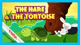 getlinkyoutube.com-The Hare and The Tortoise Story | Bedtime Story by Kids Hut | English Stories For Kids