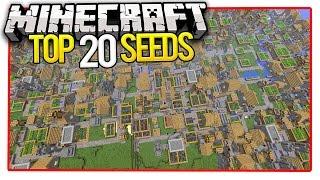 getlinkyoutube.com-Minecraft Top 20 Seeds (Minecraft PE Seeds & Minecraft PC Seeds) 2016