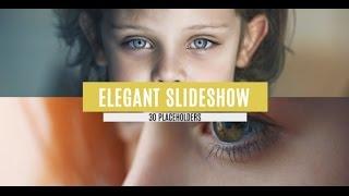 getlinkyoutube.com-FREE After Effects CS5 Template - Elegant Slideshow