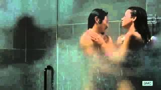 getlinkyoutube.com-The Walking Dead 6x15 - Glenn & Maggie In The Shower Together