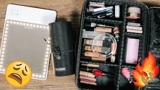 PACK WITH ME: MY TRAVEL MAKEUP | DESI PERKINS width=