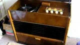 Henry Hall HMV Radiogram