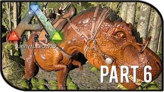 "getlinkyoutube.com-ARK: Survival Evolved Gameplay Part 6 - ""T-REX RAMPAGE!"" (Season 2)"