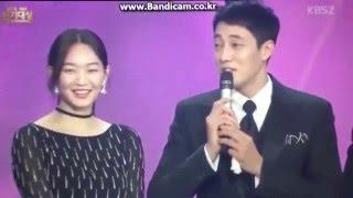 getlinkyoutube.com-[ENG SUB] So Jisub and Shin Minah KBS Best Couple Award Interview | 151231