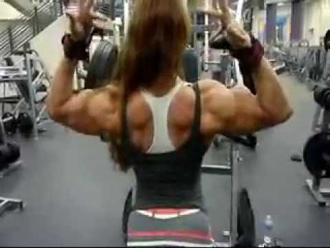 Lindsay Mulinazzi Heavy Chest Training