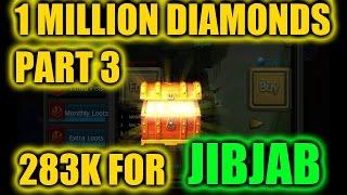 getlinkyoutube.com-Taichi Panda | 1 Million Diamonds | Part 3 | 283K For Jibjab!