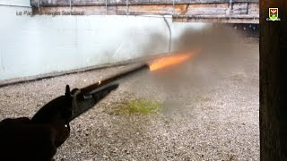 getlinkyoutube.com-LE PAGE® Pedersoli Target Standard cal 44 - Loading and shooting