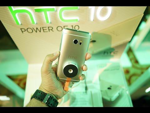 HTC 10 نظرة اولى على جهاز