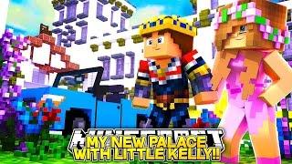 getlinkyoutube.com-LITTLE KELLY & LITTLE DONNY NEW PALACE TOUR!! Minecraft FUTURE LIFE!!