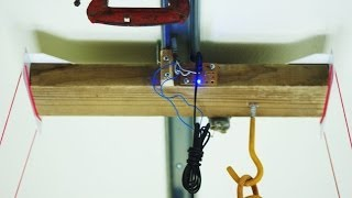getlinkyoutube.com-Do it Yourself  DIY motorized light system on rail ( light mover ) 2nd Video More Detailed Info