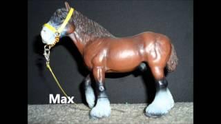 getlinkyoutube.com-My Older, Retired Schleich Horses
