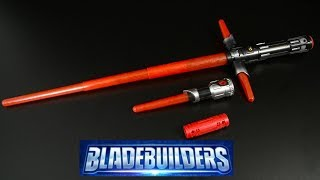 getlinkyoutube.com-Star Wars Bladebuilders The Force Awakens Kylo Ren Lightsaber from Hasbro