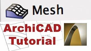 getlinkyoutube.com-ArchiCAD Tutorial | Siteplan Mesh tool adding contours in 3D - Part A