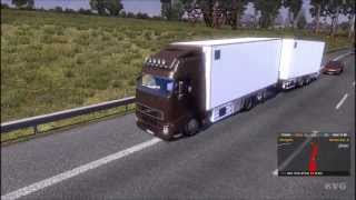 getlinkyoutube.com-Euro Truck Simulator 2  - Volvo FH12 Tandem Truck   Mods Gameplay [HD]